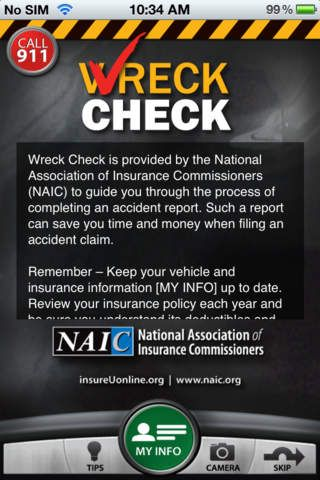 Wreckcheck Is The Auto Accident Checklist App That Guides You