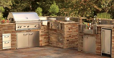 Lynx Outdoor Gas Grill Bbq 36 Inch Built In Appliance Package With Access Doors Outdoor Kitchen Outdoor Kitchen Appliances Outdoor Kitchen Design