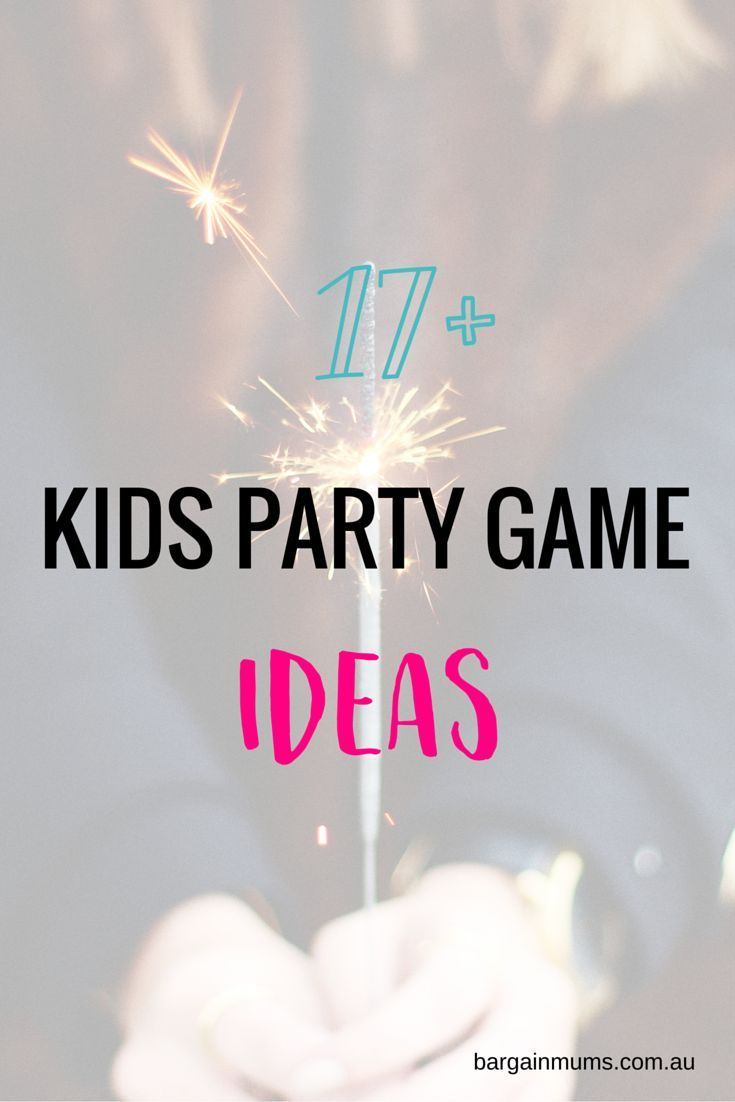 Kids party game ideas | Kids party games, Game ideas and Party games