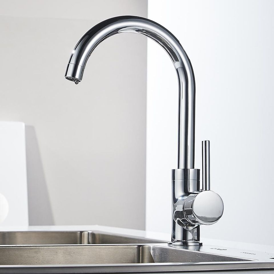 Square shape sink kitchen faucet with single level handle | alibaba ...