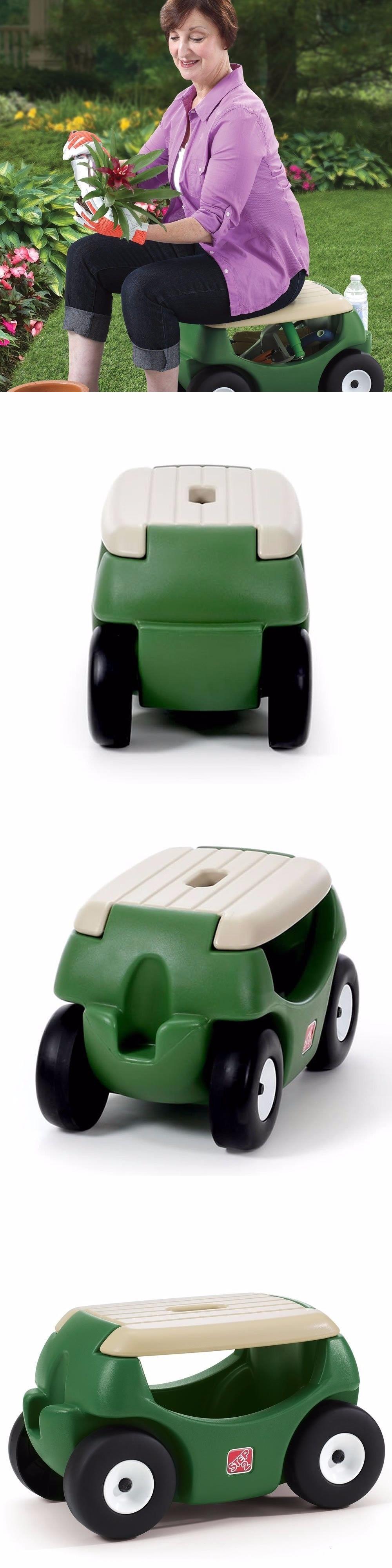 Garden Kneelers Pads And Seats 75669: Garden Hopper Seat With Wheels    Heavy Duty Rolling · ScootersWheels