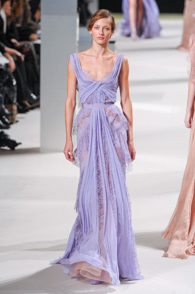 Lilac Elie Saab Gowns