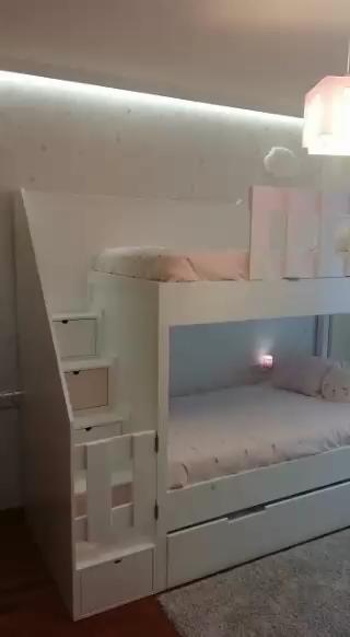 Literas con camas paralelas