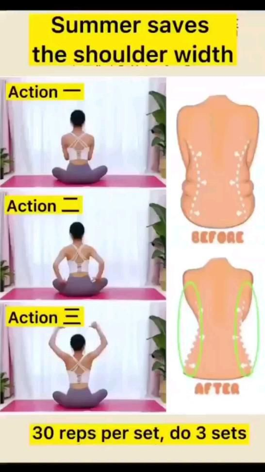 shoulder Width exercise and fitness