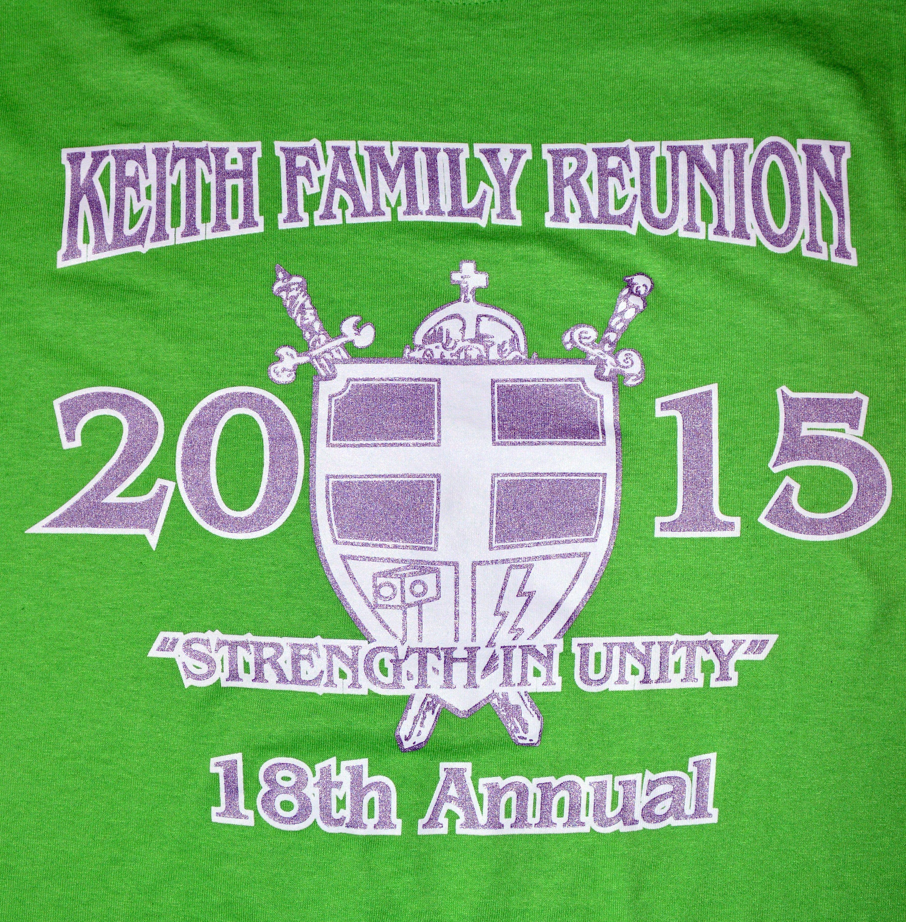 Custom Family Reunion T-Shirtsby Big Star Branding: locally owned