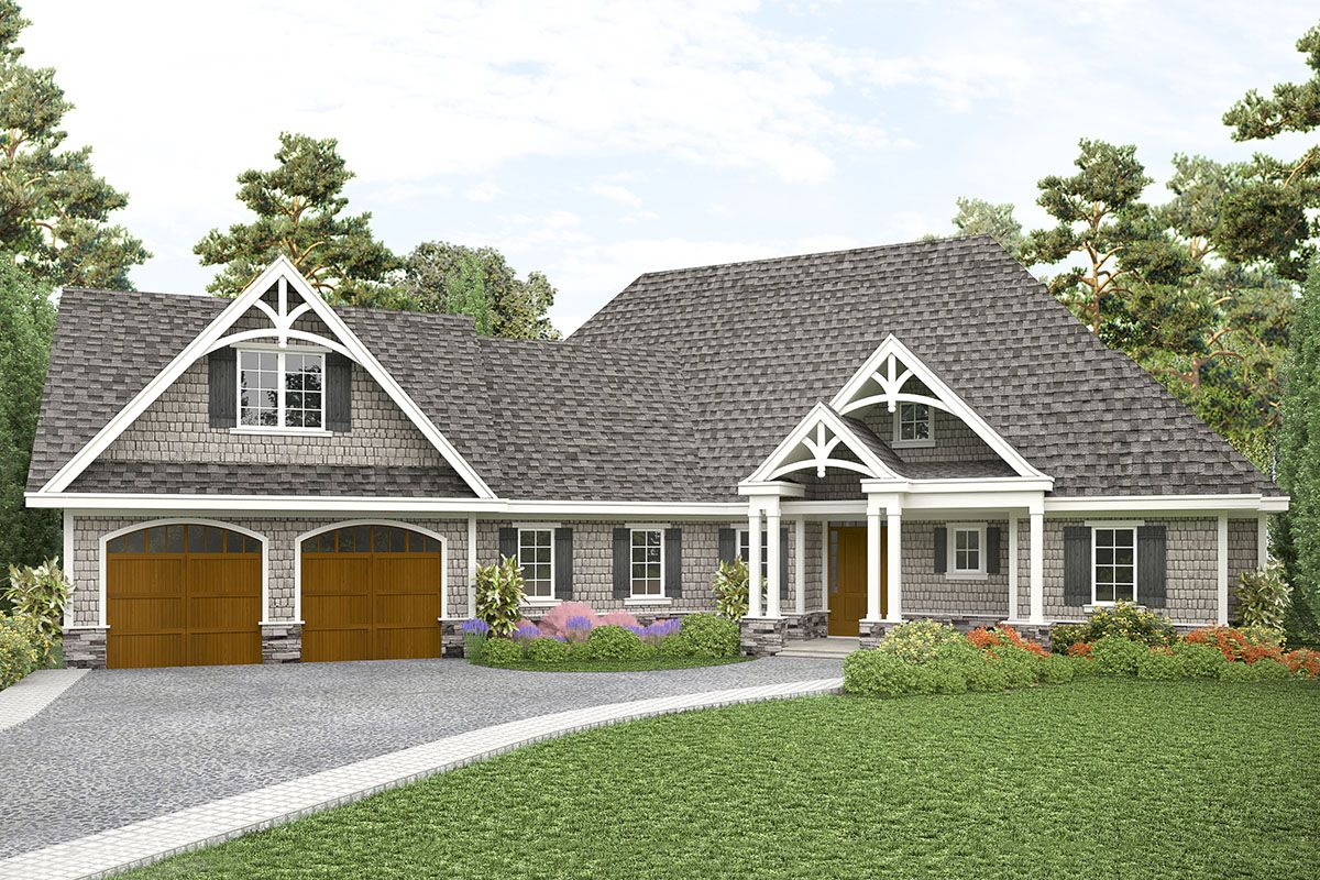 3 Bed Country House Plan with Flexible Design