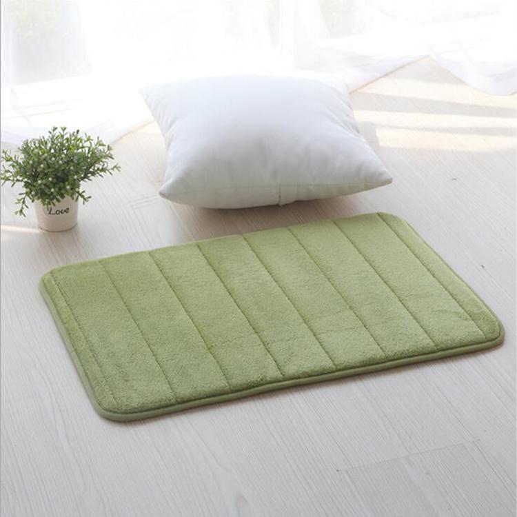 Custom Non Slip Amazon Use Memory Foam Bath Mat For Bathroom