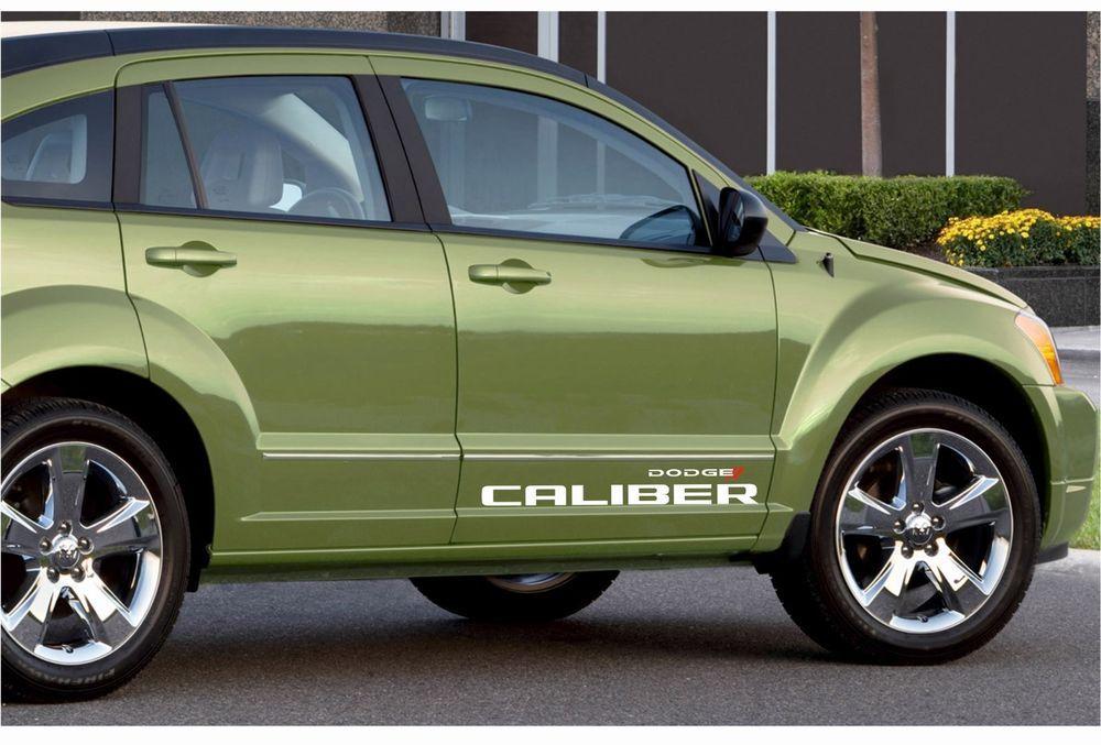 Dodge Caliber 2x Racing Stickers Logo Graphics Vinyl Body Decals Side Stripes Ebay Motors Parts Accessories Ca Racing Stickers Dodge Caliber Logo Sticker