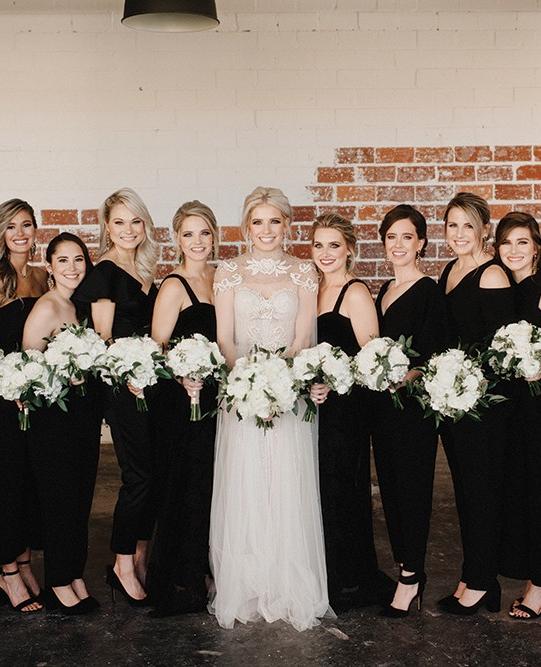 Kaygan Andrew Real Houston Wedding Bridesmaid Wedding