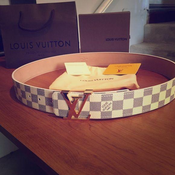 Authentic Louis Vuitton Belt Authentic Louis Vuitton Belt Comes With Box DustBag and Authenticity Card. Louis Vuitton Accessories Belts
