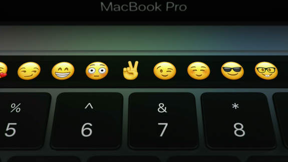 Macbook Pro S Crazy Touch Bar Puts Emoji Right In Your Keyboard Read More Technology News Here Http Macbook Pro Macbook Pro Touch Bar Macbook Pro Laptop