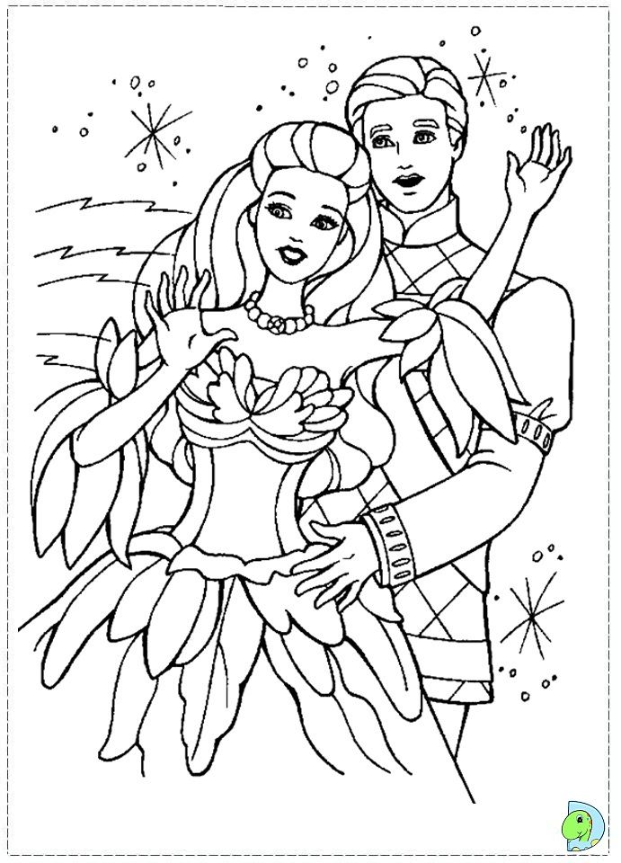 Image result for barbie swan lake coloring pages | Ballets ...