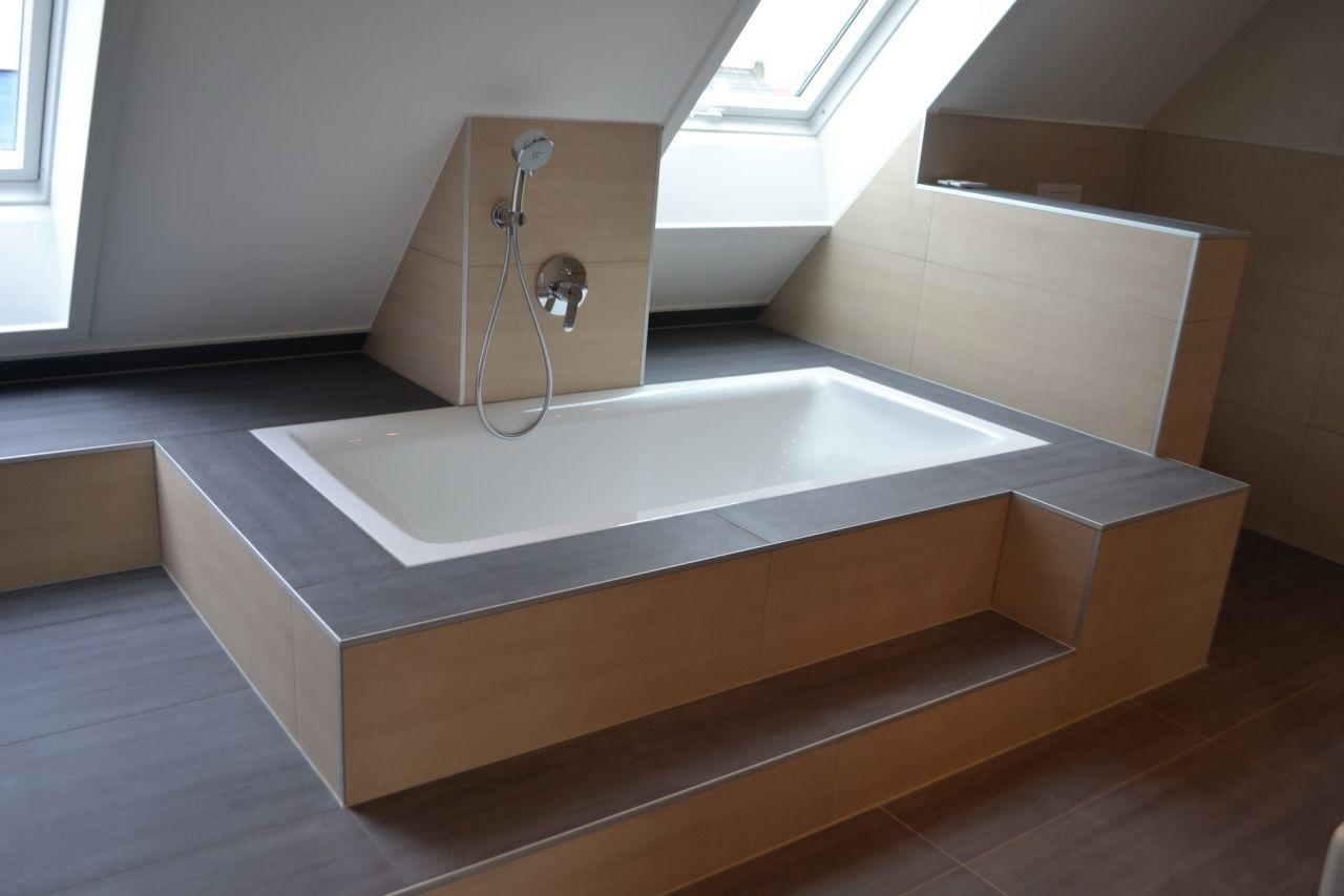 badewanne eingelassen badezimmer pinterest badewanne baden und badezimmer. Black Bedroom Furniture Sets. Home Design Ideas