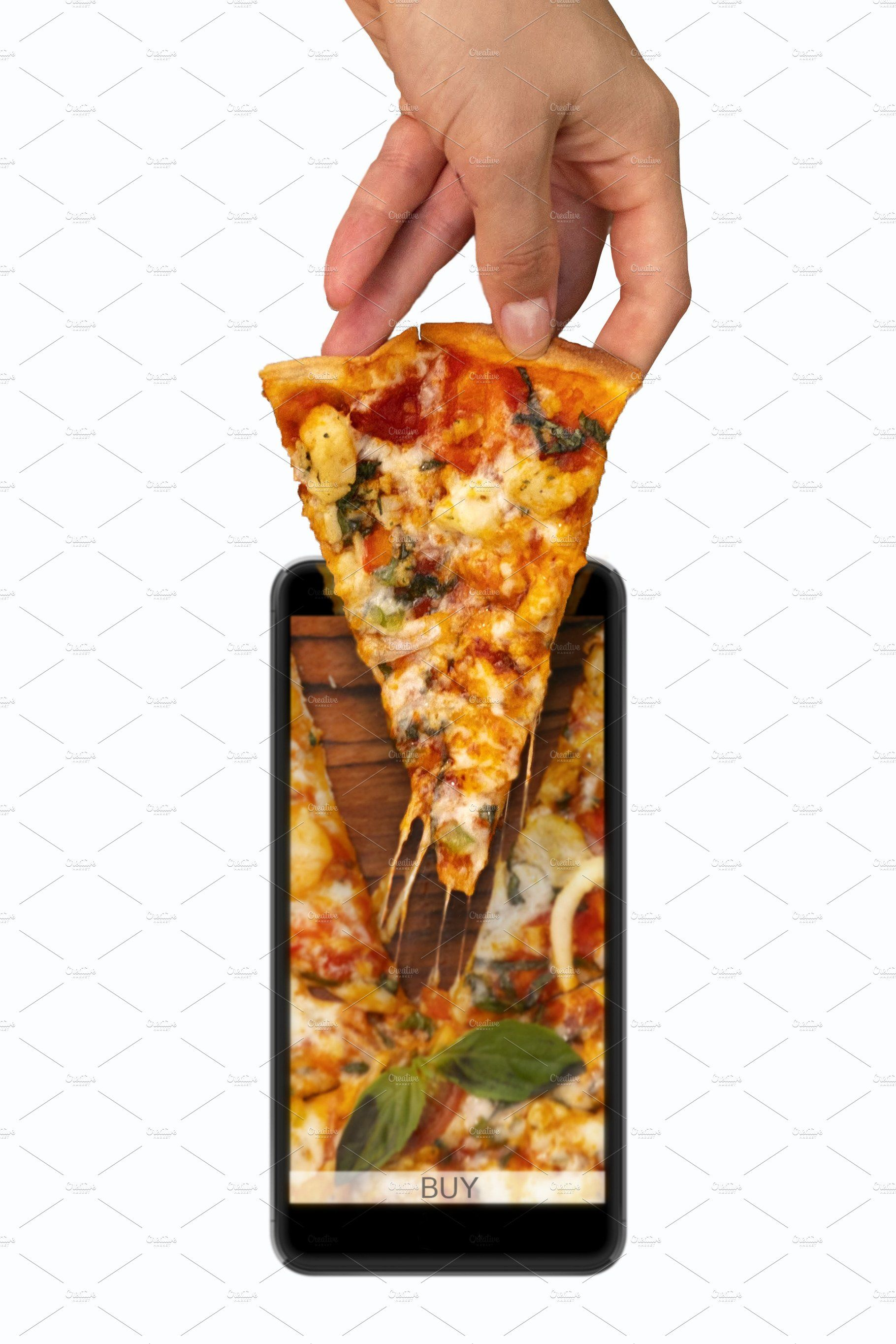 Pizza Delivery Food Advertising Food Design Food
