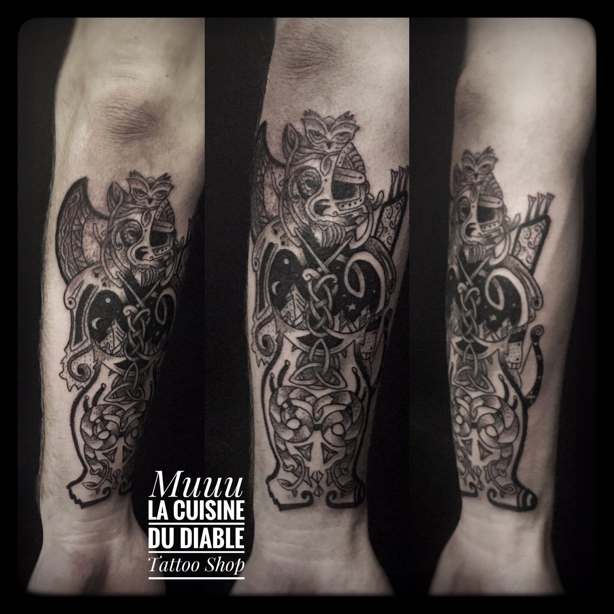 Muriel Naud La Cuisine Du Diable Tattoo Shop Grenoble Avec