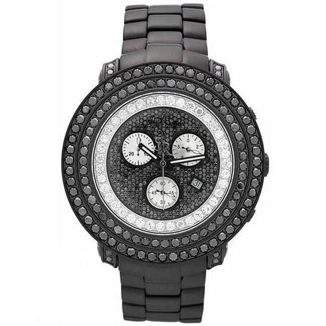 Joe Rodeo Men's Swiss Quartz 'Junior' Diamond Watch