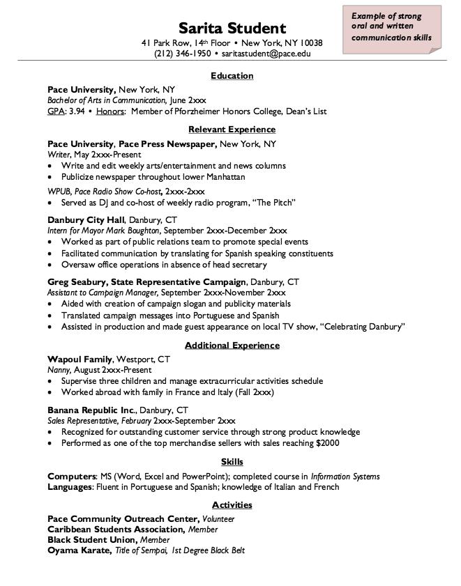 Resume Sample For Nanny  HttpResumesdesignComResumeSample