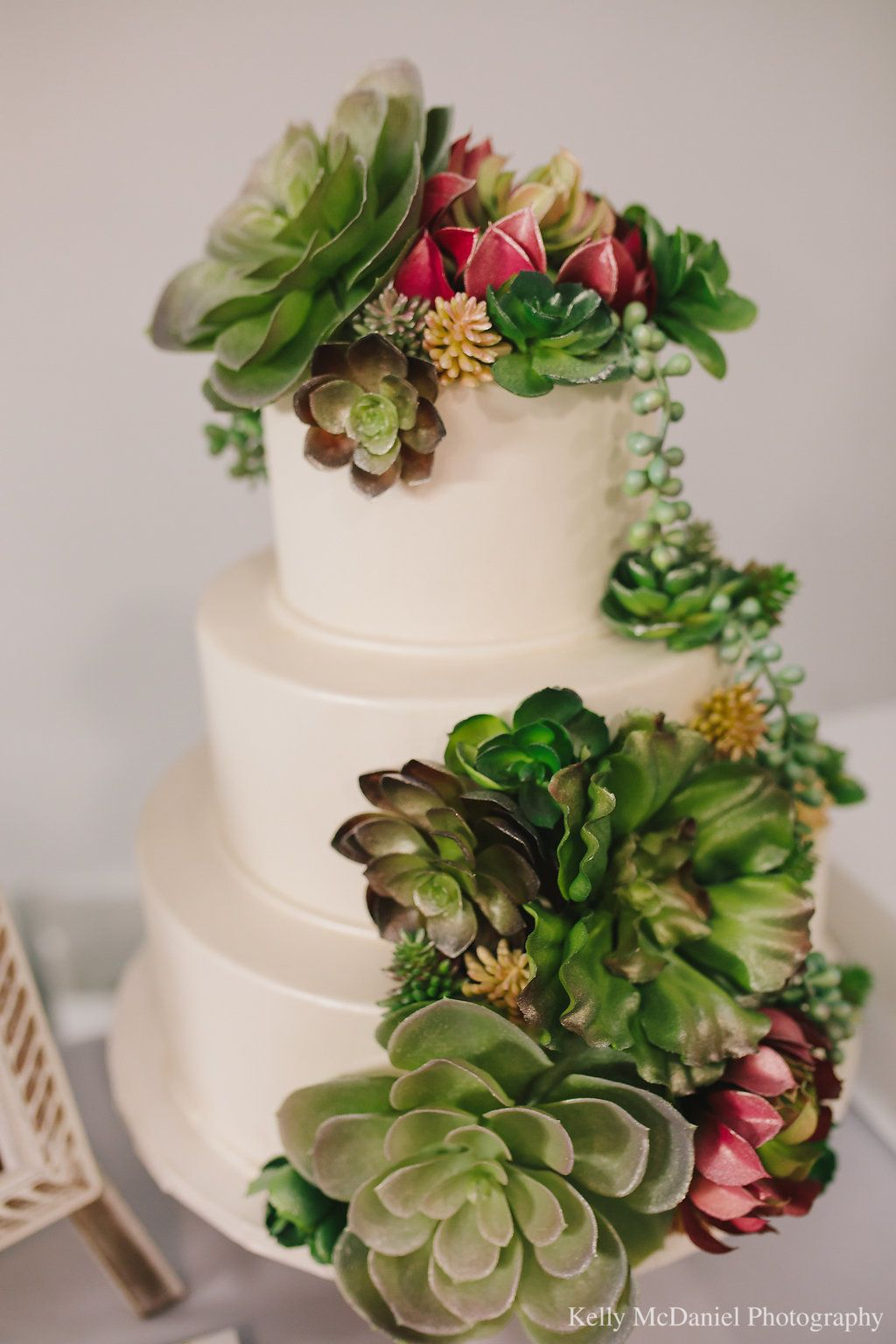 The big fake wedding event succulent wedding cakes wedding cake