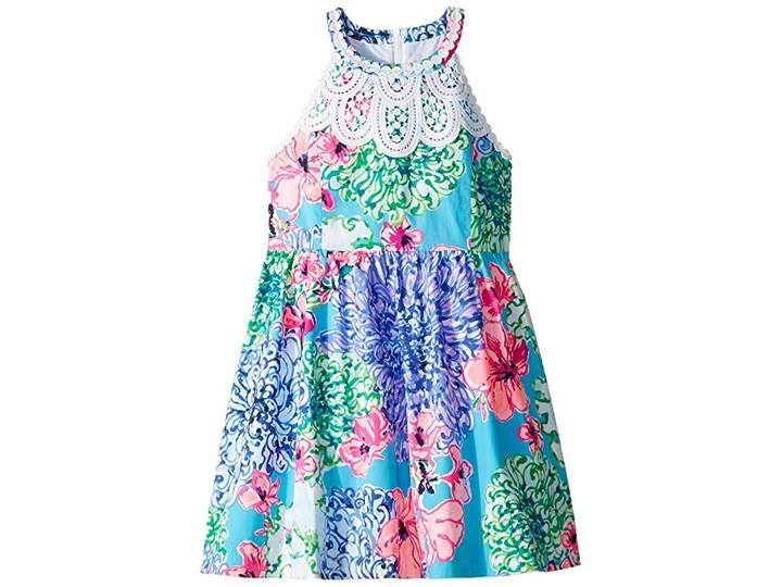 Toddler//Little Kids//Big Kids Vilebrequin Kids Baby Girls Blue Breath One-Piece Swimsuit