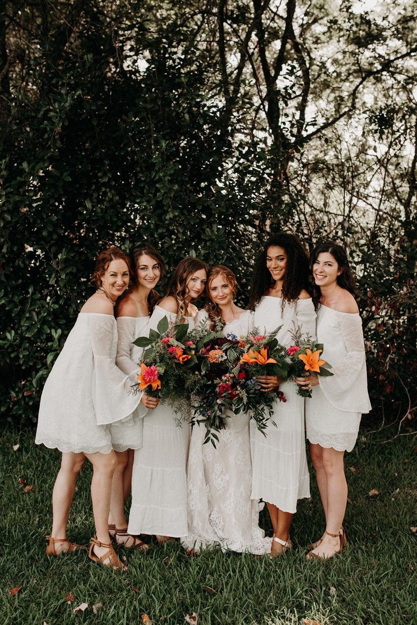 A vintage garden wedding with relaxed boho vibes wedding bells