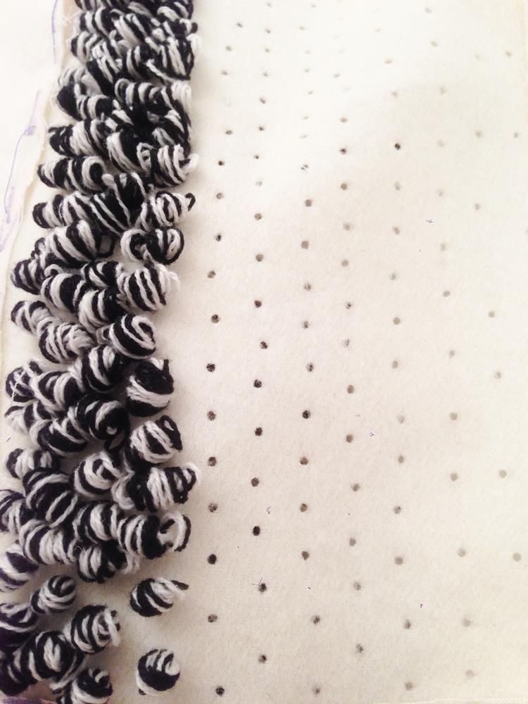 Innovative textiles design for fashion monochromatic for Fashion fabrics