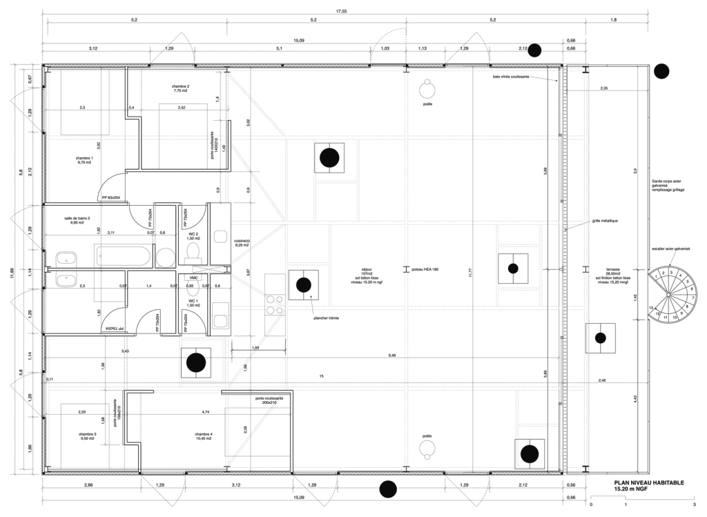 Lacaton vassal maison cap ferret square plans pinterest ferret - Maison starck cap ferret ...