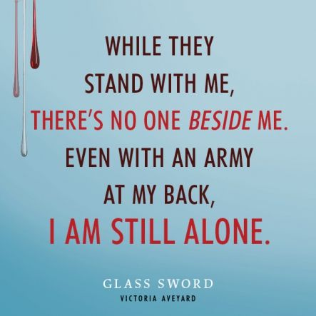 Quote from #GlassSword by Victoria Aveyard | Book Quotes (YA ...