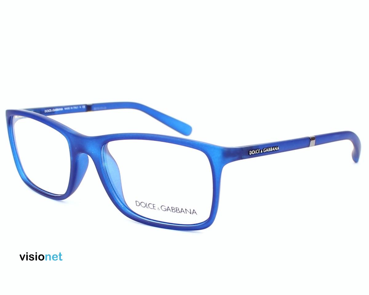 2abedda3fc64d8 Lunettes de vue Dolce   Gabbana DG 5004 Acétate finition Bleu mat - 108 EUR