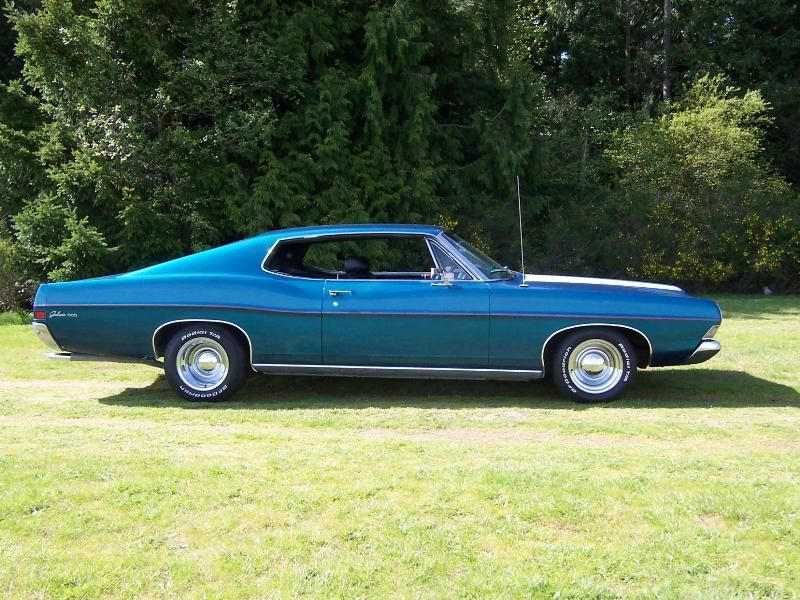 1968 Midnight Blue Ford Galaxy 500 This Is My First Car Only