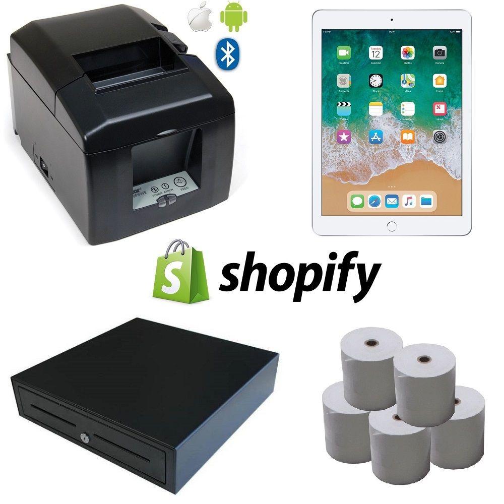 View Shopify Pos Hardware Bundle 5 Shipping label