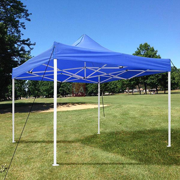 10x10 EZ Pop Up Tent Instant Shelter Easy Up Canopy Blue & 10x10 EZ Pop Up Tent Instant Shelter Easy Up Canopy Blue | Event ...