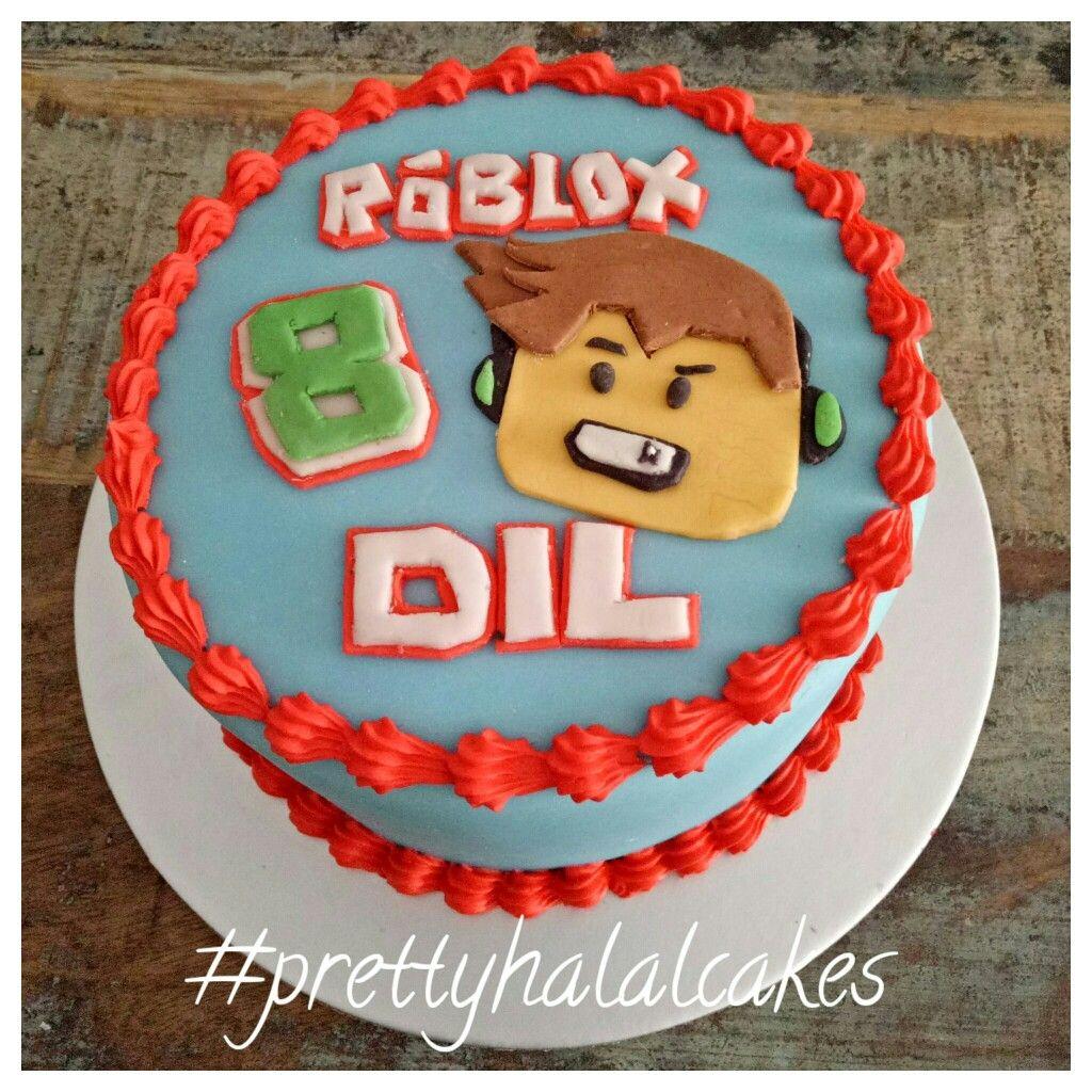 Roblox Cake Pastel De Cumpleanos Adornos Cumpleanos