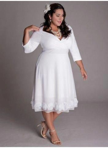 plus sized wedding dresses corset style
