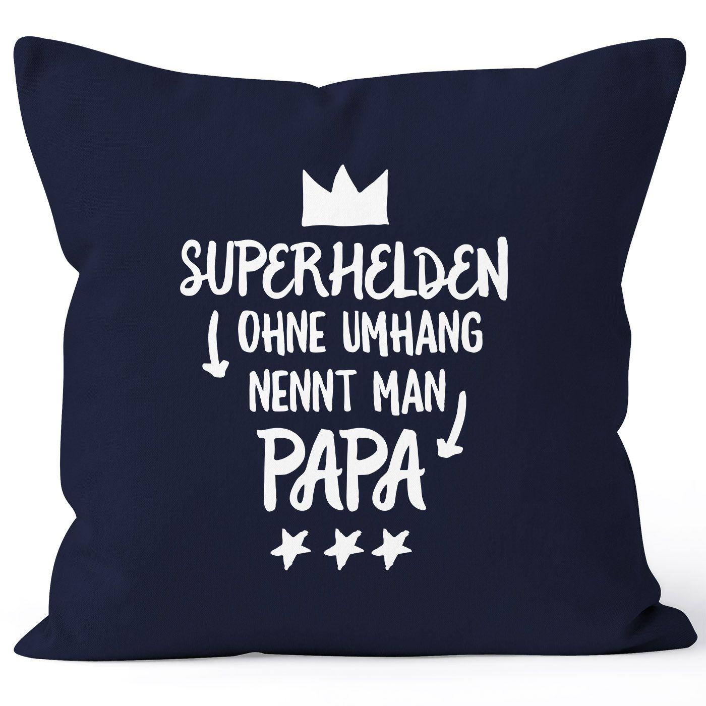 Superhelden Ohne Umhang Nennt Man Papa Kissen Bezug Kissen Hulle