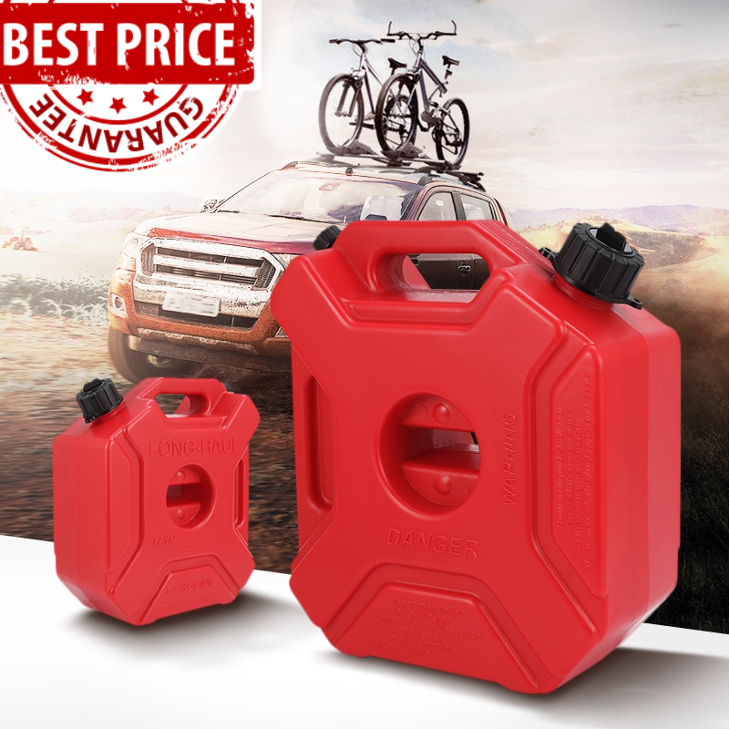 Motorcycle Car No Spill Gas Can Gasoline Container Fuel Canister 5l Petrol Cans Gas Cans Jerry Can Car