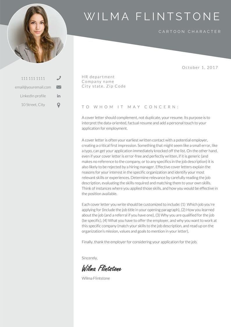 Resume Template Professional Resume Cv Template Modern Etsy Resume Template Professional Resume Template Professional Resume