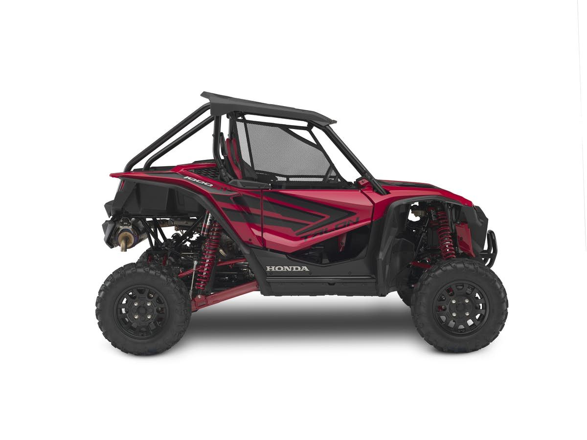 Honda Gets Into Side By Sides With The New Talon 1000x And 1000r Honda Atv Accessories Dual Clutch Transmission