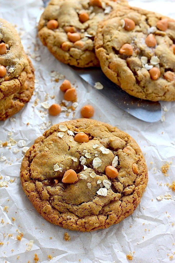 Chewy Butterscotch Oatmeal Cookies Recipe Oatmeal