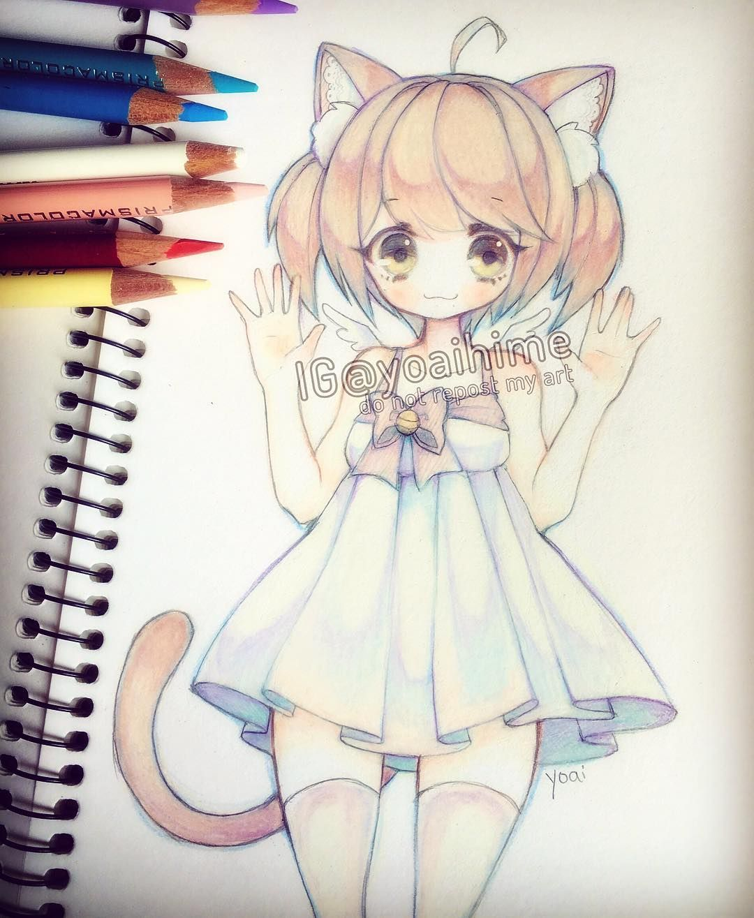 Not my drawing but it is so cute!!! … Anime chibi, Anime