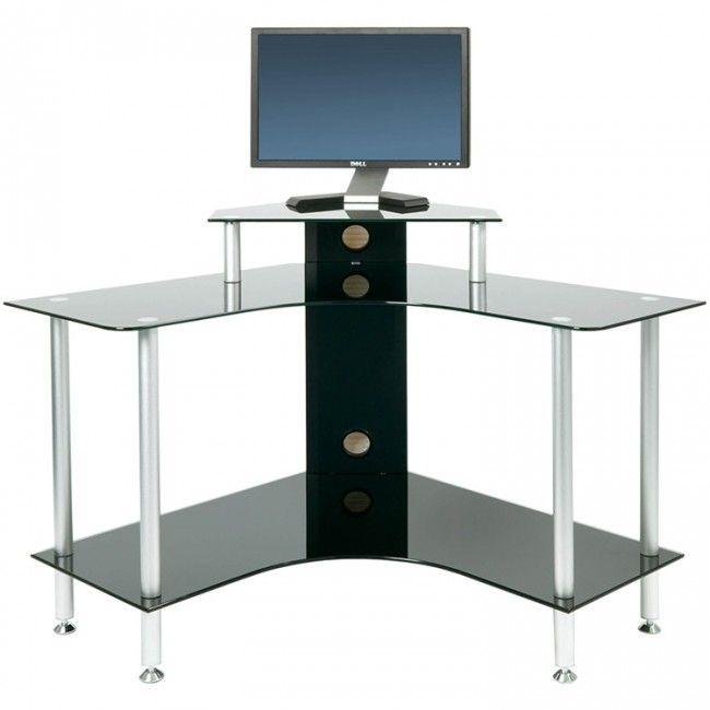 #glasstopcomputerdesk