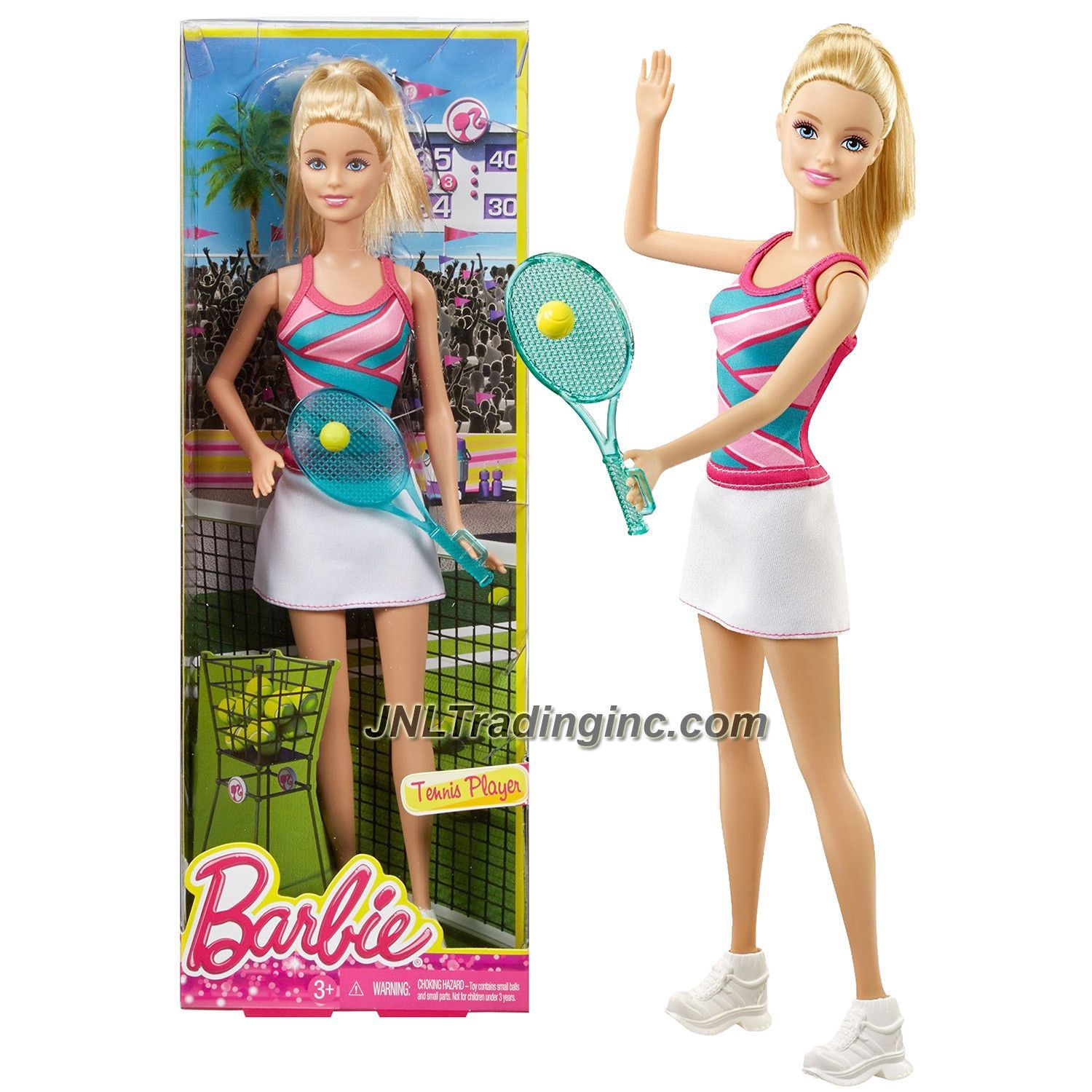 Barbie deluxe furniture stovetop to tabletop kitchen doll target - Mattel Year 2014 Barbie Career Series 12 Inch Doll Barbie As Tennis Player Cfr04 With Tennis Racket And Ball