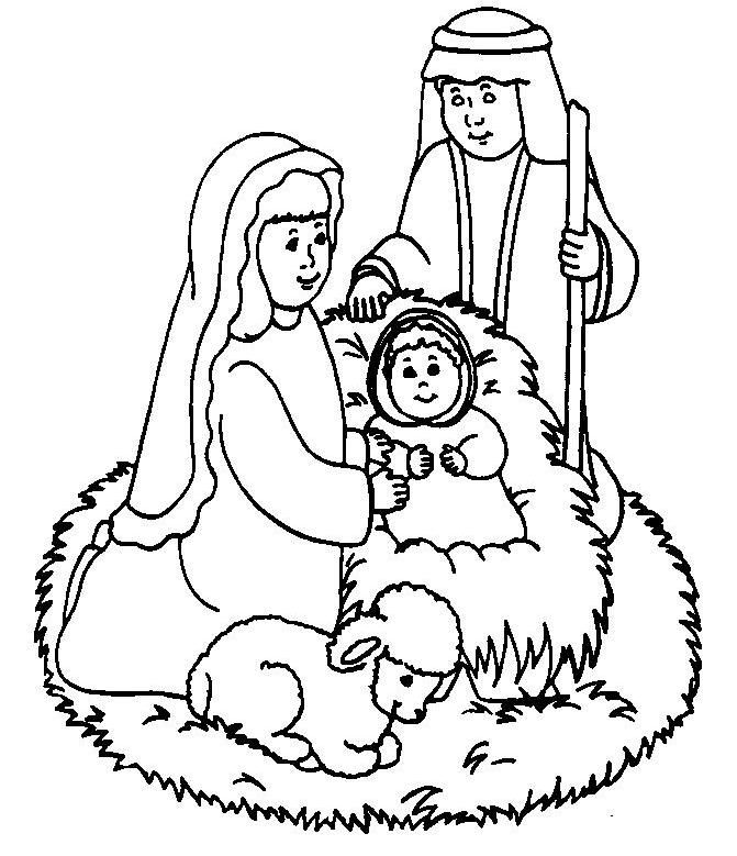 Baby Jesus Coloring Pages Baby jesus, Sunday school and Babies - best of coloring page jesus in the desert