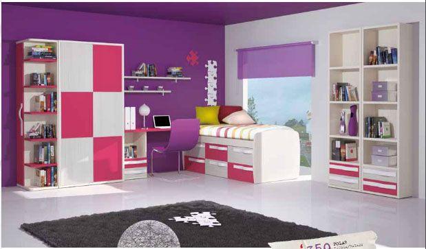 Como decorar dormitorios en tonos lila para m s for Tonos grises para dormitorio