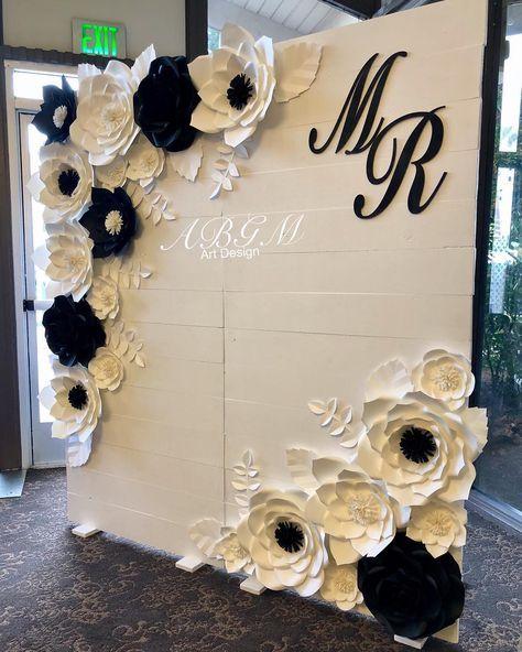 Pin By Abby Rubio On Love Rose Gold Wedding Backdrop Wedding