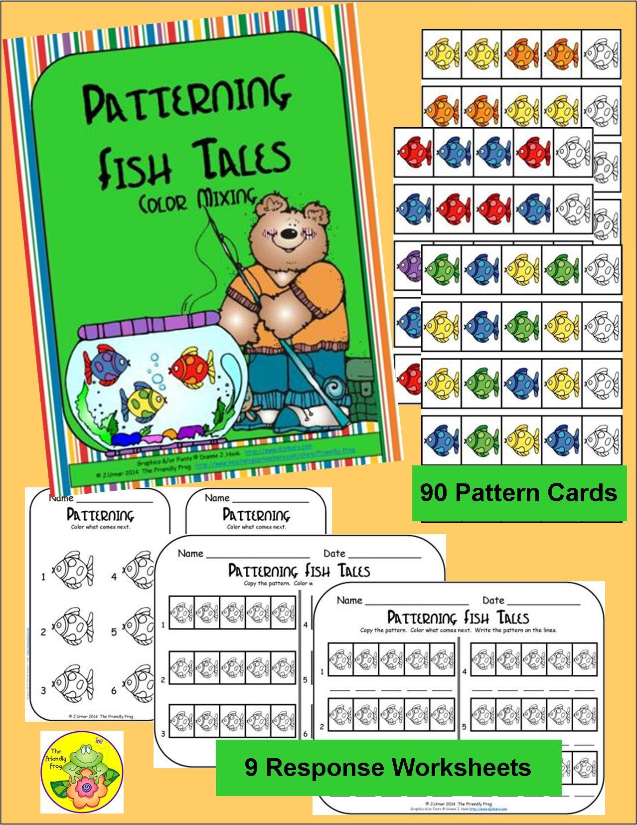 Patterning Fish Tales Color Mixing