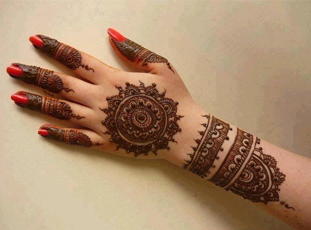 Mehndi Bracelet Designs 2016 : Mehndi bracelet patterns ideas fashi