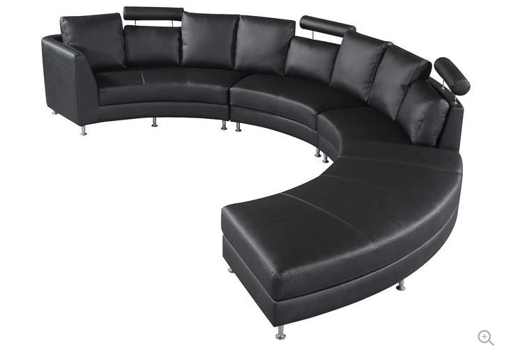 Couch Idea | Leather sectional sofas, Contemporary sectional