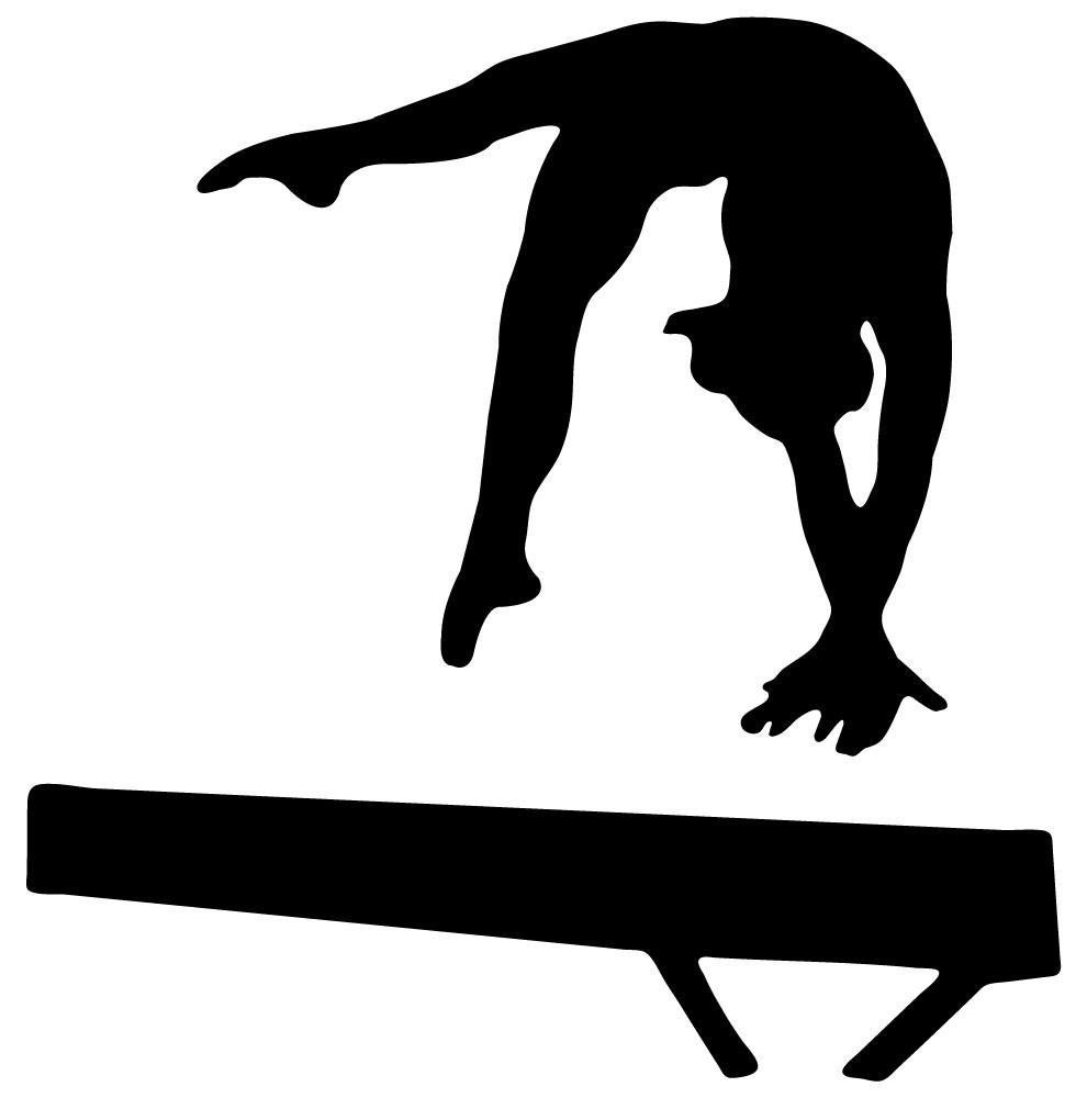 vault gymnastics silhouette. Hand Painted Wall Murals With Gymnastics Silhouettes - Google Search Vault Silhouette E