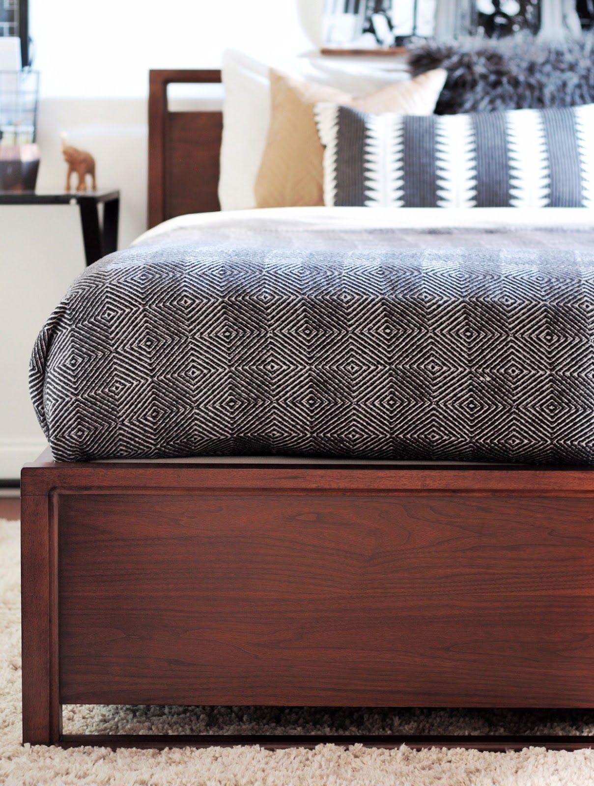 Teen Boy's Basement Bedroom Reveal   House   Basement ... on Teenager Basement Bedroom  id=83458