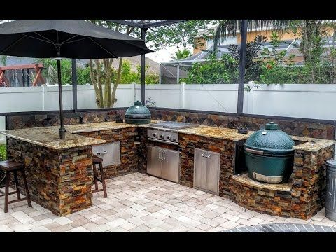 Best Outdoor Kitchen Design Ideas 2017  Youtube  Home Entrancing How To Design An Outdoor Kitchen Review